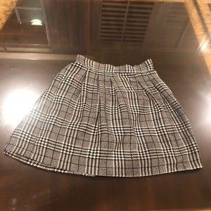 Dressy plaid skirt